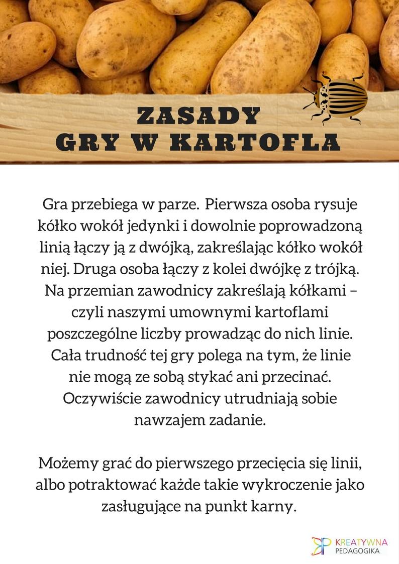 GRA W KARTOFLA zasady