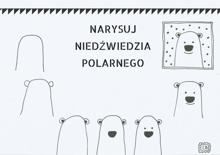 Narysuj Niedźwiedzia polarnego