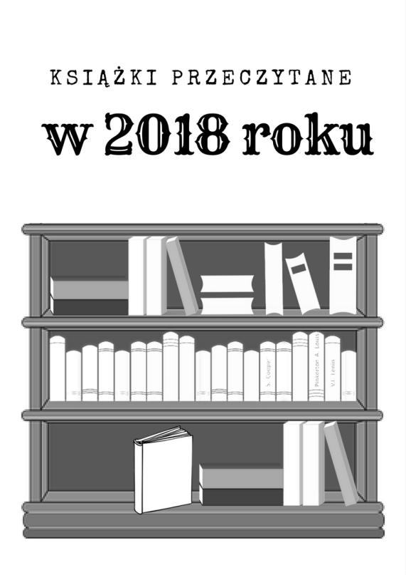 ksiązki przeczytane w 2018 roku
