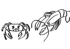 krab i homar